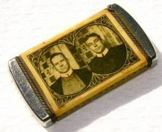 Antiques & Collectibles -- match safe