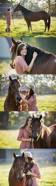 Indiana Senior Girl | Senior Photography Ideas | Horse | What to Wear Seniors | Hat | Fall | Greensburg Indiana