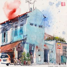 Pahang Street @ Kampong Glam by PaulArtSG, via Flickr