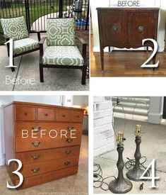 Come see how this sad piece became a gorgeous black antique vanity with farmhouse rustic & refined feel. Goodwill Furniture, Arts And Crafts For Adults, Antique Vanity, Trash To Treasure, Repurposed Items, Rustic Farmhouse, Thrift, Painted Furniture, Dyi