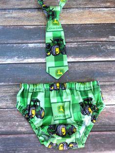 John Deere birthday clothes boys 1st birthday by ShopLilSquirts