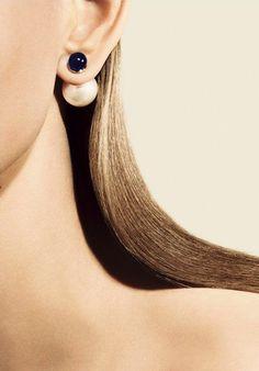 Dior Mise En Dior Tribal Earrings #jewelry
