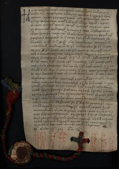 Medieval Manuscript, Dracula, Seals, View Image, Ribbons, Calligraphy, Pictures, Stamps, Penmanship