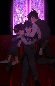 pixiv is an illustration community service where you can post and enjoy creative work. A large variety of work is uploaded, and user-organized contests are frequently held as well. Detective Conan Ran, Detective Conan Shinichi, Conan Comics, Detektif Conan, Magic Kaito, Anime Guys, Manga Anime, Anime Couple Kiss, Kaito Kuroba