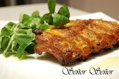A great twist to a crowd favorite. These ribs deliver a sweet, yet tangy flavor. Each bite is full of succulent, juicy meat. They are a great main course for special occasions. Pork Riblets Recipe, Bon Appetit, Easy Cooking, Cooking Recipes, Kohlrabi Recipes, Gula, Colombian Food, Best Meat, Recipe Steps