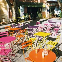 images of french bistros | ... chairs would be in real life but i just love these french bistro sets