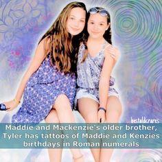 ••••• Maddie/Kenzie fact! @maddieziegler @officialmackzmusic @tylerzieglerr…