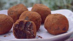 Troll a konyhámban: Nyers brownie falatok - paleo Troll, Muffin, Paleo, Breakfast, Health, Food, Fitness, Morning Coffee, Health Care