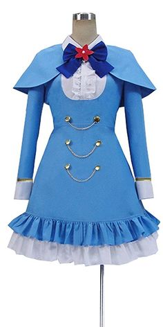 Onecos Anime Tantei Opera Milky Holmes Cordelia Glauca Cosplay Costume >>> Click on the image for additional details.