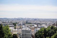 Things to do in Paris | The view from Montmartre