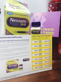 #SeeHeartburnDifferently with NEW Nexium 24HR ClearMinis & enter to win 1 of 3 getaways! #ad #freesample