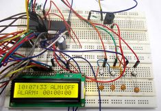 Light Intensity Measurement using LDR and ATmega8