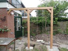 Pergola kindvriendelijke tuin tuin ideetjes pinterest swings pergolas and tuin - Eigentijds pergola design ...