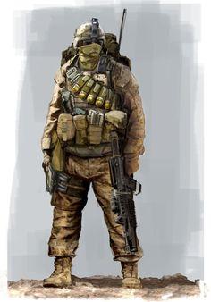 Modern Us Military Art