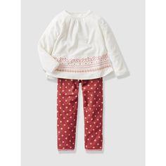 Pijama de terciopelo niña