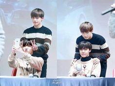 Esta foto por deos!  son tan lindos *-* ya se imaginaron alguna vez a j-hope y taehyung casados?