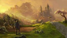 Link heading venturing through Hyrule - The Legend of Zelda: Twilight Princess