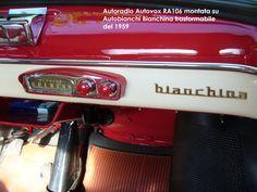 Autovox RA106 & Fiat Nuova 500 N (1957)