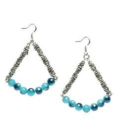 Perivuan Mirror Bead Earrings and Chain at Joann.com