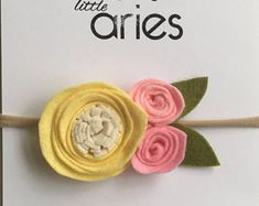 Rosa arco de limonada - bebé - niña - arcos de la rosa corona