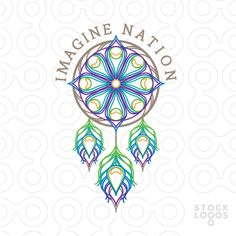 Exclusive Customizable Logo For Sale: Imagine Nation Dream Catchers | StockLogos.com