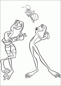 Browse Home Unisex Themes Frog Baby Shower Decorations Princess And The Coloring PagesDisney