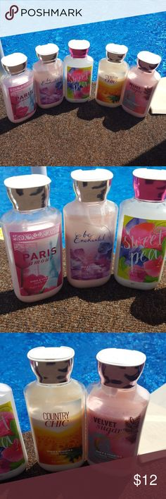 Bath and Body works bundle 5 bottles Bath and Body Works Makeup