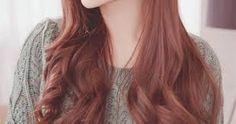 rose brown Image result for pink brown hair korean