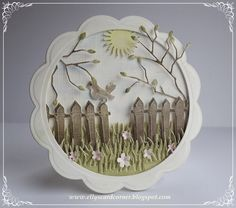 Elly's Card Corner: Scenery with Pan Pastel