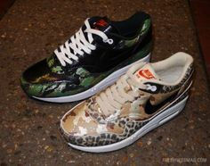 ATMOS × NIKE AIR MAX 1 ANIMAL CAMOUFLAGE PACK #sneaker