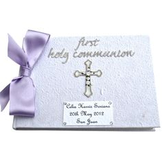 Personalised First Holy Communion Book £19.95