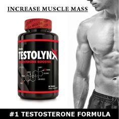 TestolynX-Best-Testosterone-Booster-2X-Stronger-than-Nugenix-Lean-Muscle