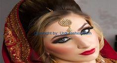تازہ ترین پاکستان دلہن کے شررنگار طرزیں 2016   Urdu Fashion