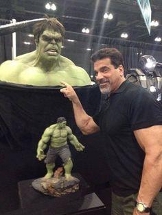 Lou Ferrigno & Hulk