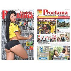 Edición (impresa) No. 341 – Julio de 2014 – Proclama del Cauca en circulación