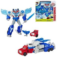 Transformers Robots in Disguise Power Surge Optimus Prime Hasbro Transformers Transformers Lego Transformers, Transformers Action Figures, Optimus Prime, Power Rangers Movie Suits, Alien Figure, Cool Lego Creations, Bendy And The Ink Machine, Thundercats, Toy Trucks