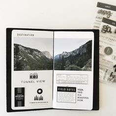 January Traveler's Notebook  by mamaorrelli at Studio Calico
