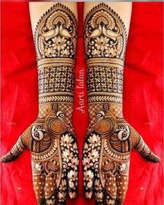 To clarify that peacock motifs are traditional design pattern in Indian Wedding Mehndi designs. And Most preferable designs in market. Peacock Mehndi Designs, Indian Mehndi Designs, Latest Bridal Mehndi Designs, Mehndi Designs 2018, Unique Mehndi Designs, Wedding Mehndi Designs, Mehndi Patterns, Mehandi Designs, Latest Mehndi