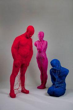 Alejandra Zermeño Lion Sculpture, Textiles, Statue, Projects, Designers, Inspiration, The Creation, Art, Log Projects