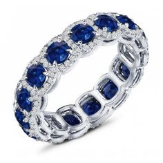 3.50 Carat Sapphire. It looks like a woman's ring, but I loooooove Sapphire. Maybe we could figure something out?
