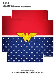 Caixa bombom Kit Presente Mae Maravilha 2 4th Birthday, Wonder Woman, Printables, Cards, Party Ideas, Chocolate Box, Sweet Box, Wonder Woman Birthday, Women