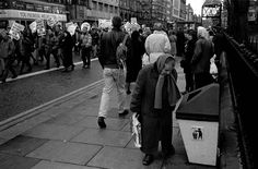 Another one from documentscotland. A woman looking in a bin (1993 again).