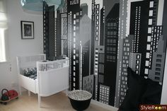 Modern Black And White Nursery - Design Dazzle