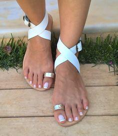 Bohemio sandalias de cuero sandalias de cuero por chicbelledejour