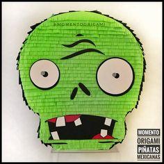 #PlantsVsZombies #piñata #PiñataMexicana #MomentoOrigami #Rosario Plantas Vs Zombies Zombie Birthday Parties, Leo Birthday, Zombie Party, Halloween Party, Plants Vs Zombies, Zombies Vs, How To Make Pinata, Plant Zombie, Monkey Art