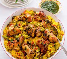 ¡Que aproveche! – mit Gemüse und Kaninchen. Ratatouille, Risotto, Cauliflower, Cooking Recipes, Snacks, Meat, Chicken, Dinner, Vegetables
