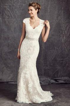 Beautiful lace wedding dresses ideas 149