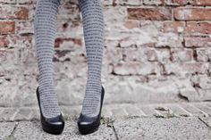 Zohara love text tights, winter 2012 collection