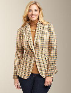 Talbots - Shetland Check Jacket | Jackets | Woman