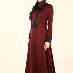 Uzun Kloş Elbise